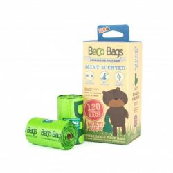 BecoBags Mint 8 Rollos x 15 Bolsas