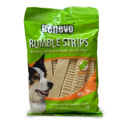 Benevo Rumble Strips Snacks Veganos para Perros