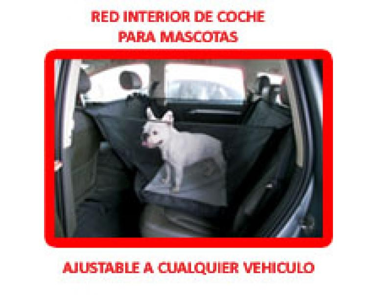 Biopet Protector Red Interior Coches100x55x55cm