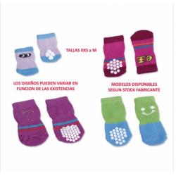 Biopet Set 4 Calcetines Multicolor S