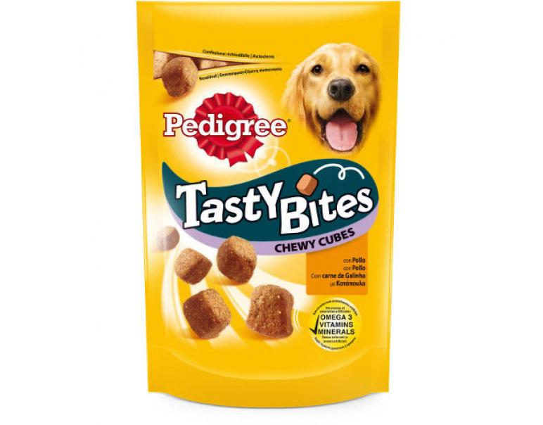 Regalo Bocaditos masticables Pedigree Tasty Bites pollo