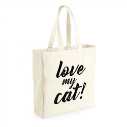 "ThePetLover Bolsa Saco ""Love My Cat"""