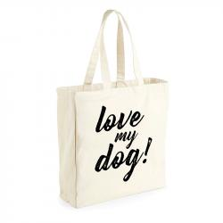 "ThePetLover Bolsa Saco ""Love My Dog"""