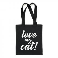ThePetLover Bolsa Tote  'Love My Cat'