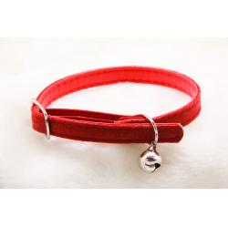 Collar Ajustable Rojo 1x30cm