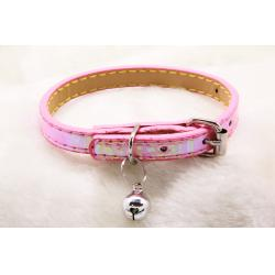Reflectante Collar Ajustable Rosa 1x30cm