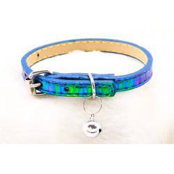 Reflectante Collar Ajustable Azul Claro 1x30cm