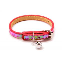 Reflectante Collar Ajustable Rojo 1x30cm