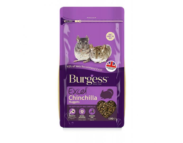 Burgess Excel Chinchilla 1,5kg