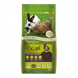 Burgess Excel Rabbit Adult 2kg