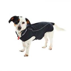 Buster Impermeable Perros Pimienta Negra XXS