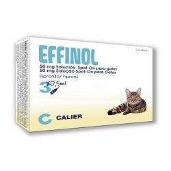 Calier Effinol Spot-On 3 Pipetas 50 Mg