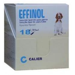 Calier Effinol Spot-on Perros 10-20kg 18 Pipetas
