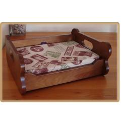 Imor Cama Madera Color Nogal S 49 x 20 x 40 cm