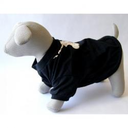 Camiseta Fashion Dog XS Negro