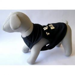 Camiseta Punk Dog S Negro