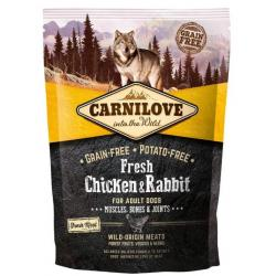 Carnilove Canine Adult Fresh Pollo Conejo Joints Pienso para Perros 1,5kg