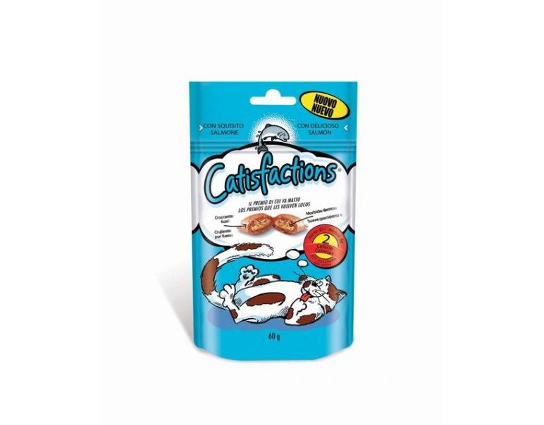 Catisfactions Salmón 60g