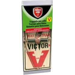 Protect Home Cepo Madera Ratas Victor 2uds