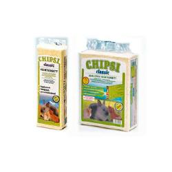 Chipsi Viruta natural clasica para pequeños animales 60 L