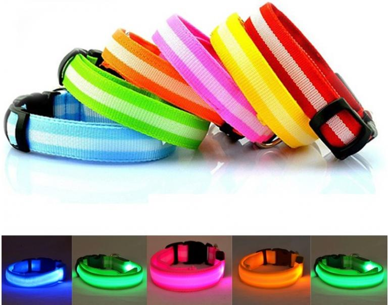 iPet Collar Led Ajustable 33-47cm Verde