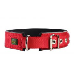 Hunter Collar Neopren Nylon Rojo/Negro 60: 2,5 x 55-60 cm