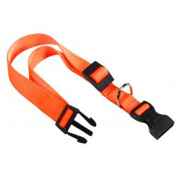 Ferplast Collar Nylon Club Naranja 20-56 cm