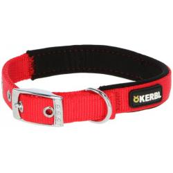 Kerbl Miami Plus Collar Nylon Perros Rojo 53-61cm 38mm