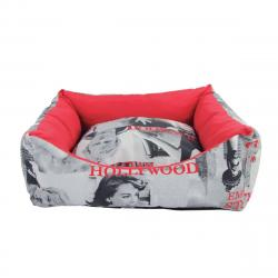 Cuna Cama Desenfundable Cuadrada Hollywood 67x56x19cm