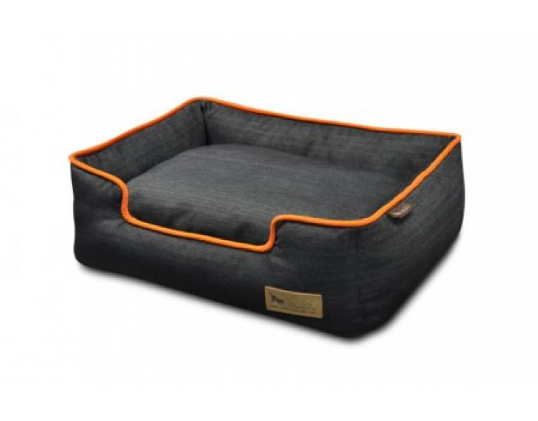 Pet Play Cuna Perro Denim Naranja L