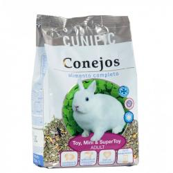 Cunipic Conejo Adulto: Toy/Mini/Supertoy 2.5 kg