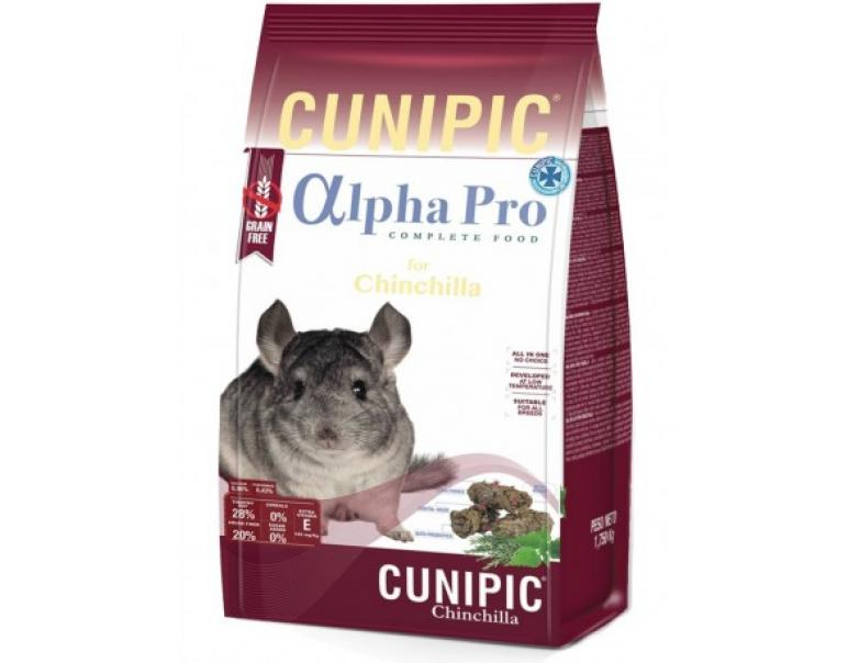 Cunipic Alpha Pro Comida Chinchilla 1,75 kg