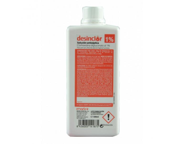 Desinclor Antiséptico No Jabonoso al 5% 500 ml