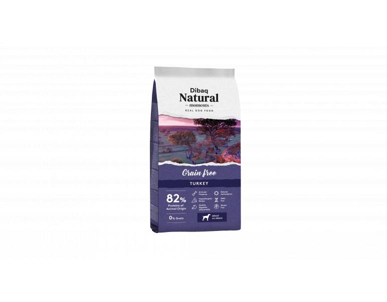 Dibaq Natural Moments Sin Granos Pavo 12 Kg