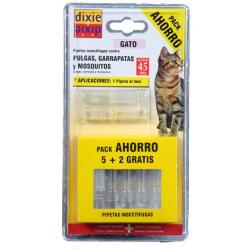 Dixie Pipetas Pack Gato 7x1ml