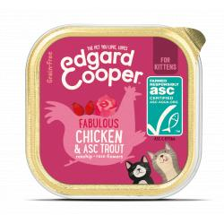 PACK AHORRO Edgard And Cooper Gatito Pollo y Trucha 19x85g