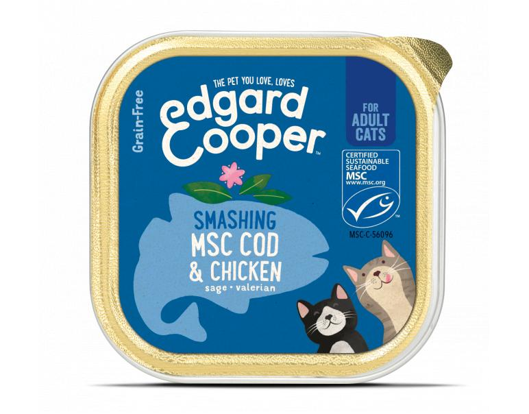 PACK AHORRO Edgard And Cooper Gato Bacalao 19x85g