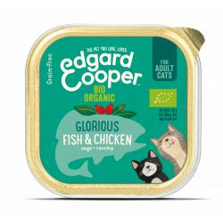 PACK AHORRO Edgard And Cooper Gato Pescado y Pollo 19x85g