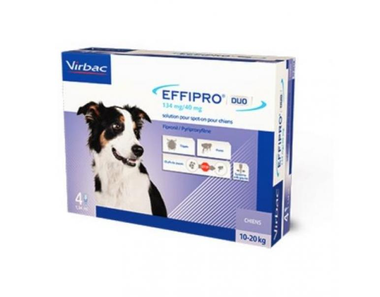 Effipro Duo Spot On Perro Grande 24 pipetas