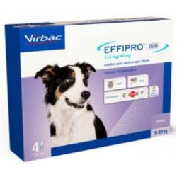 Effipro Duo Spot On Perro Grande 4 Pipetas
