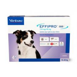Effipro Duo Spot On Perro Mediano 4 pipetas