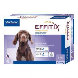Effitix Spot-On 4 Pipetas M 10-20 kg