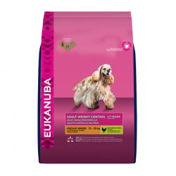 Eukanuba Adult Weight Control Raza Mediana 3Kg