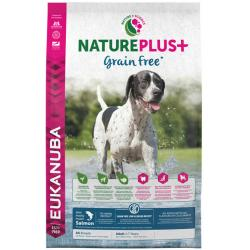 Eukanuba Nature Plus+ Adult Grain Free Salmón 10Kg