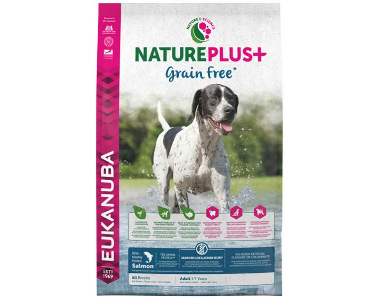 Eukanuba Nature Plus+ Adult Grain Free Salmón 14kg