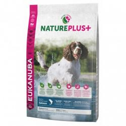 PACK AHORRO Eukanuba Nature Plus Adult Medium Salmón y Arroz Pienso para Perros 2x10kg