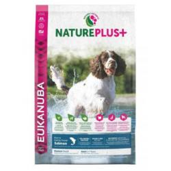 Eukanuba Nature Plus+Adulto Mediano Salmón y Arroz 14kg