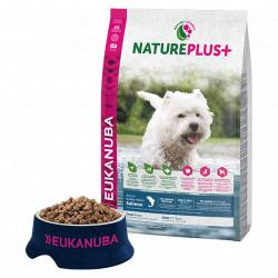 Eukanuba Natureplus+ Adulto Mini Salmón 2,3 kg