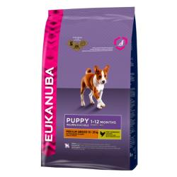 Eukanuba Puppy & Junior Raza Mediana 1 kg