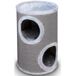 Europet Rascador Cat-Dome Everlast-Tower 2 Niveles Gris 37 x 37 x 56 cm